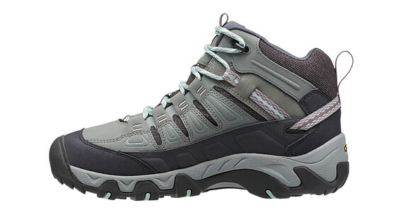 Keen Oakridge Mid Polar WP Shoes Women Moon Mist/Desert Sage